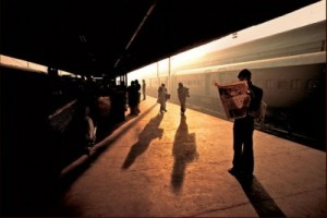 Train-Station-Platform-Old-Delhi-India-1983