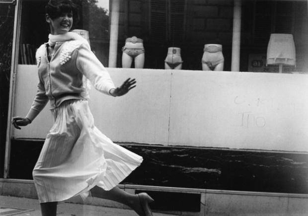 Sabine Azema et le bandagiste,1985