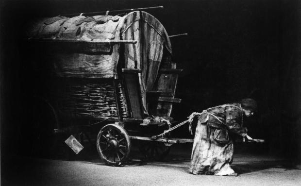 Burri Mother Courage 1960