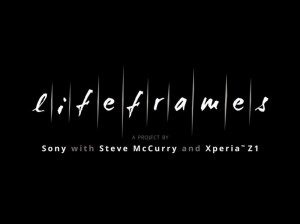 Lifeframes - sony with Steve McCurry
