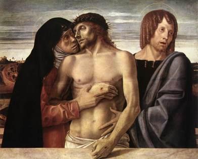 Giovanni Bellini - Pietà (1465/1470)