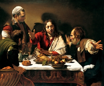 Caravaggio - Cena in Emmaus (1601-2) National Gallery, Londra
