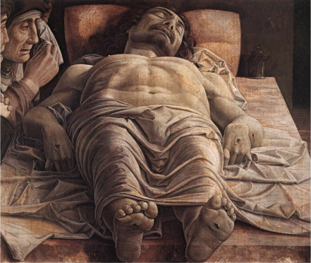 """Andrea Mantegna - """"Cristo Morto"""" (1475-1478)"""