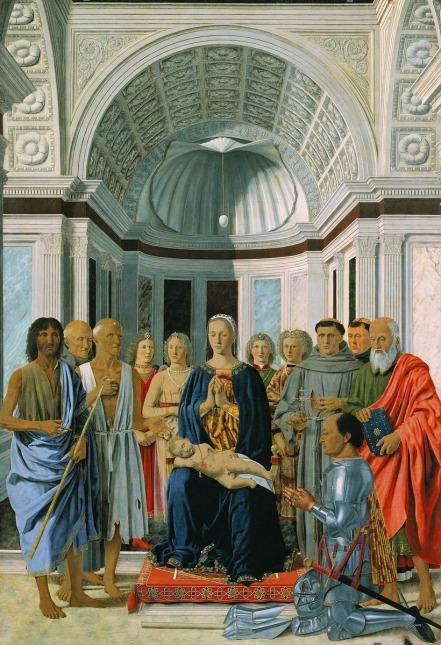 Piero della Francesca - Pala di Brera (1469-74)