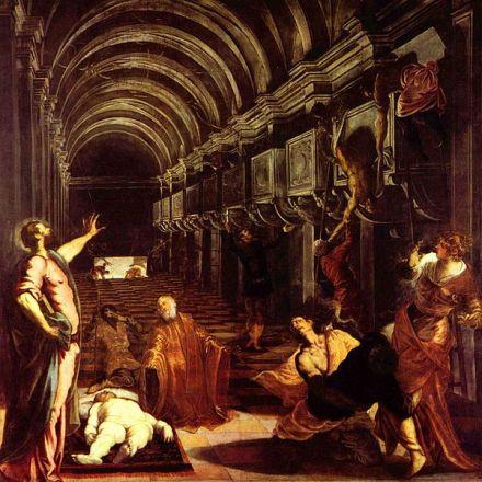 Tintoretto - Ritrovamento del corpo di san Marco (1562-6)