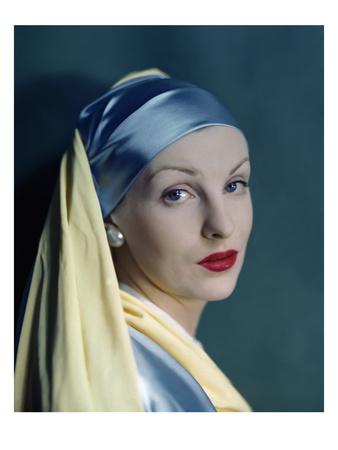 """A la Vermeer..."" Vogue Us nell'Agosto 1945."