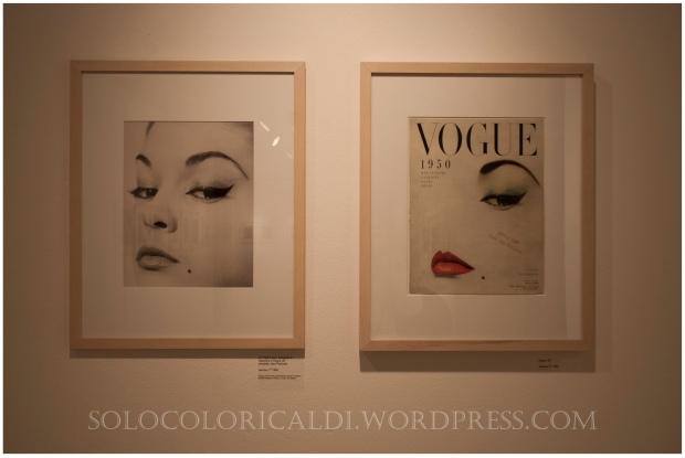 """""""doe eye' Copertina Vogue US, Gennaio 1950 con Jean Patchett."""