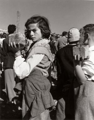 © Izis Bidermanas - Piantagioni della foresta dei martiri, Israele, 1953