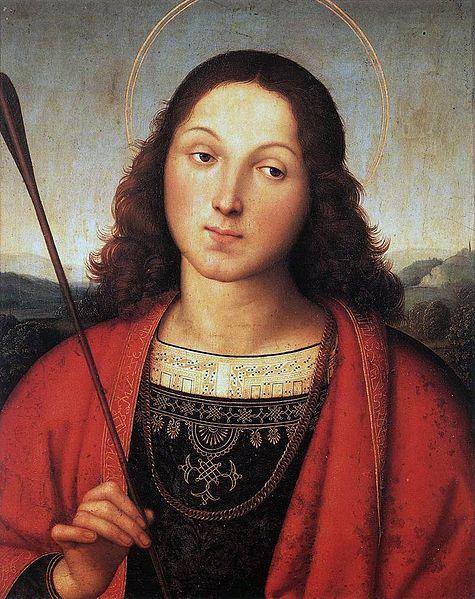 Raffaello, San Sebastiano (1501-2)
