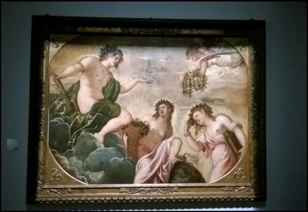 """Tintoretto """"l'Origine di Amore"""" (1562)"""