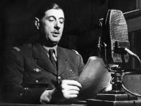 L' appello del generale Charles de Gaulle ai francesi dalla BBC di Londra (18 giugno 1940) Credits: Rue des Archives /RDA /Tips Images