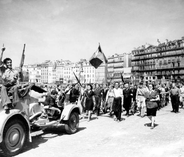 La liberazione di Marsiglia, 23 agosto 1944 Credits: Rue des Archives /RDA /Tips Images