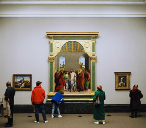 Thomas Struth - National Gallery 1, London, 1989